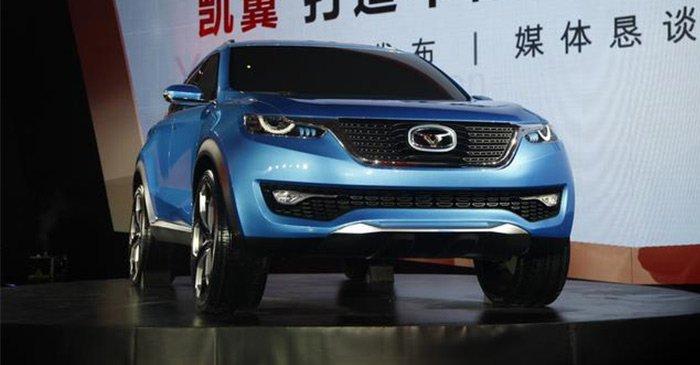 凯翼汽车首款SUV概念车i-cx发布