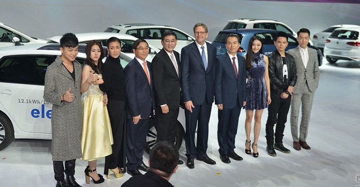 2014广州车展大众品牌之夜-大众集团携多款新车亮相