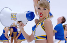 2015年第57届格莱美奖提名:年度录音 / 年度歌曲 / 最佳流行歌手 Taylor Swift /Shake It Off