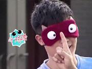 陈赫怪物眼罩模仿表情包