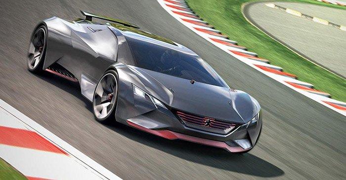 标致超级概念车Vision GT