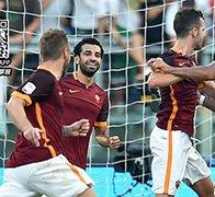 罗马2-1胜10人尤文