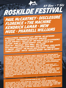 2015 丹麦罗斯基勒音乐节