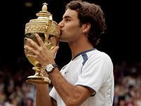 2005温网费德勒再胜罗迪克 3度登顶夺大满贯第5冠