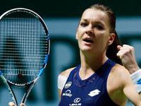 WTA年终总决赛半决赛 A·拉德万斯卡VS穆古拉扎(中文) 20151031