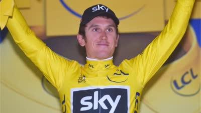 环法第一赛段战报: 托马斯夺冠首穿黄衫