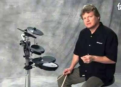 罗兰电爵士鼓教学视频 7
