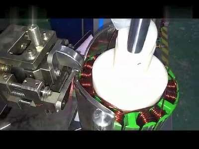 增程器电机绕线机2,电动车增程器绕线机