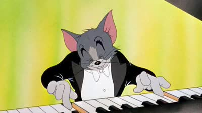 1947 第19届奥斯卡最佳动画短片 猫的协奏曲 The Cat Concerto