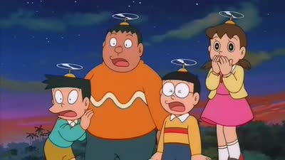 哆啦a梦1993剧场版 大雄在白金迷宫 国语