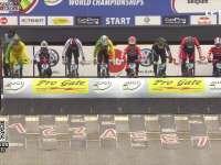 争夺激烈交替领先 荷兰选手夺得男子精英组冠军