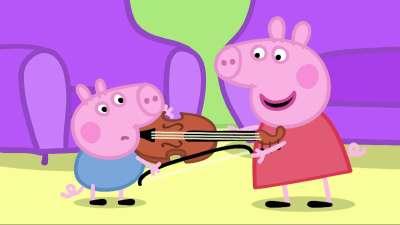粉红猪小妹16 乐器