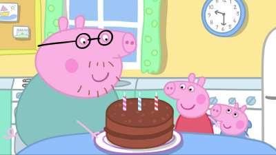 粉红猪小妹21 妈妈的生日
