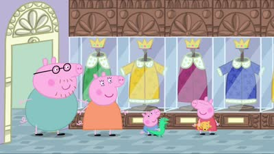 粉红猪小妹39 博物馆