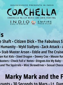 2015美国Coachella音乐节