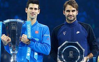 ATP总决赛颁奖全程 小德赛季11冠称霸2015