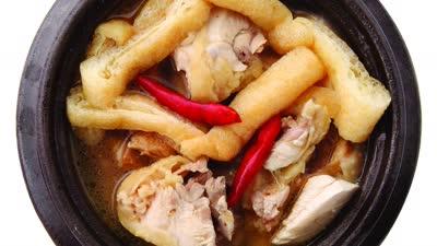 适量白醋去腥韩式辣鸡汤 简单好吃的脆皮水果沙拉