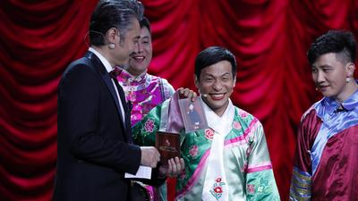 宋小宝带伤上台反串甄嬛 乔杉修睿欢乐上演速激