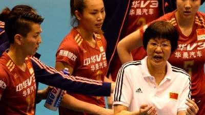 女排世界杯中国两连胜 3-0速胜阿尔及利亚
