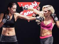 《Fight Candy》第5期:美女酥胸微露 献身教学柔术裸绞招式