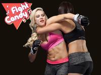 《Fight Candy》第6期:金发美女献身十字固 罗西经典降服再现