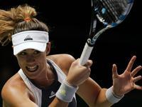 WTA年终总决赛小组赛 穆古拉扎VS科维托娃(中文) 20151030