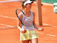 法网-穆古拉扎完胜库兹娃 连续三年晋级八强