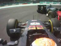 F1马来西亚站正赛:维斯塔潘大骂罗斯伯格是白痴