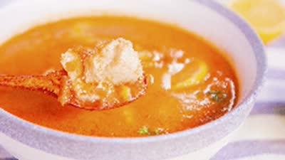番茄奶油浸鲜鱼口感酸甜