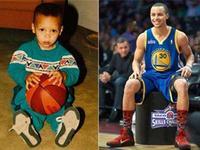 你能认出几个? 晒晒NBA巨星们的童年照