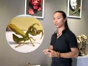 90后农村小伙折纸玩到极致 一只纸螳螂为何值21万?-超人访问团0419