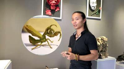一只纸螳螂为何值21万?
