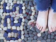 父亲节,用最简单经济的方法,给爸爸做个鹅卵石足底按摩垫