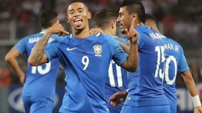 世预赛-热苏斯传射内马尔中柱 巴西2-0秘鲁取6连胜