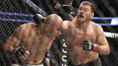UFC211比赛集锦 米欧奇成功复仇