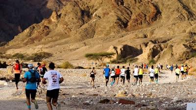 2015埃拉特沙漠马拉松精彩集锦