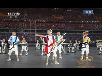 罗兰学员参加2014南京青奥会开幕式演出