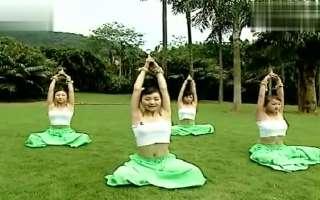 乐奇学习吧教程美女瑜伽减肥视频
