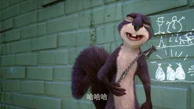 """《抢劫坚果店》30s先导预告片 松鼠""""特工""""呆萌来袭"""