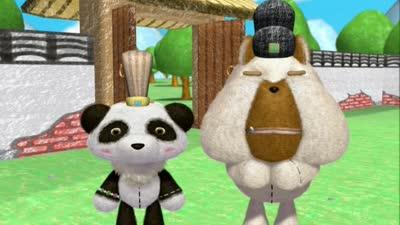 巴布熊猫成语系列第一部33