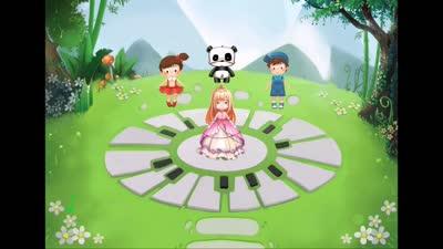 音乐熊猫故事第2集《花与公主》