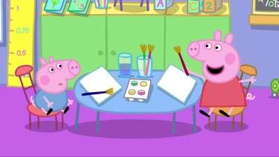 粉红猪小妹06 乔治第一天上幼儿园