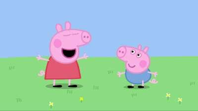 粉红猪小妹11 打嗝