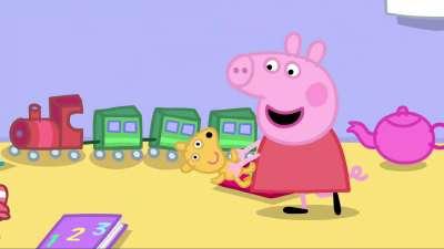 粉红猪小妹43 整理房间