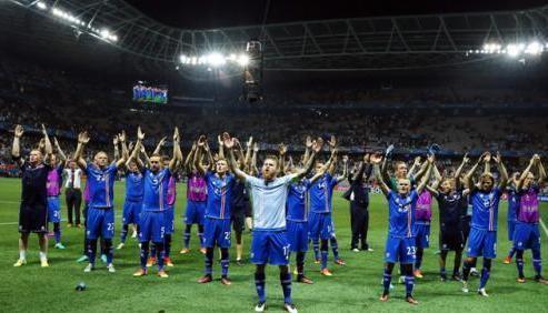 可以说冰岛队直接进军世界杯已经十拿九稳,继去年参加欧洲杯后,这个只