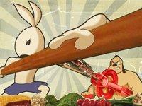 功夫兔与菜包狗
