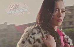 超模首次触电MV拍摄