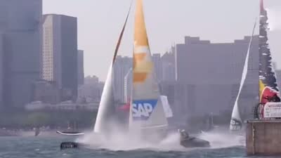 海帆赛我和你在一起(下) 青岛公开招募帆船赛第六人