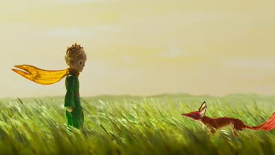 年度暖心动画《小王子》发布新版预告  小狐狸等经典角色形象首次全曝光