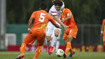 世预赛-中国6-0不丹开门红 杨旭戴帽于大宝两球
